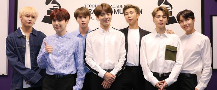 BTS é considerado inelegível para a categoria Best New Artist no Grammy