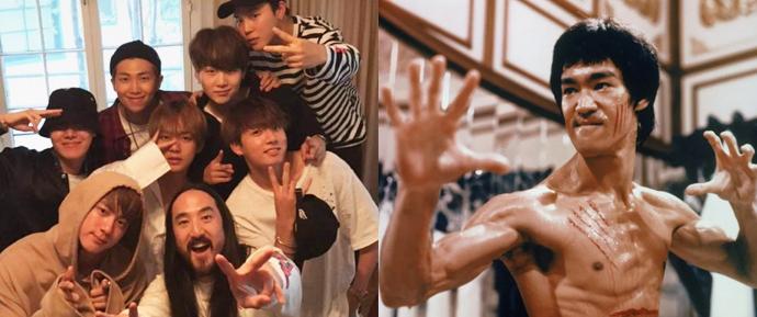 """Steve Aoki diz que o BTS é o """"Bruce Lee do nosso tempo"""", e esse é o motivo"""