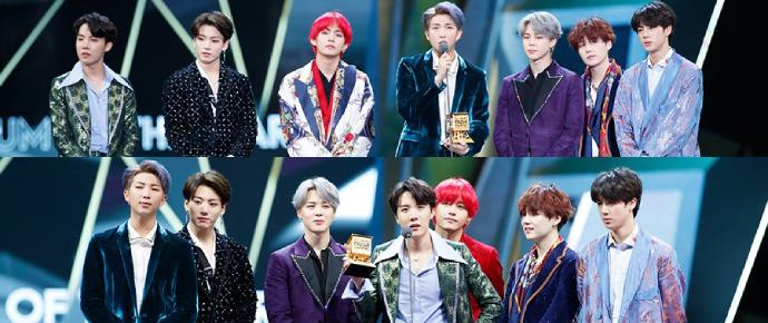 Noite de glória! BTS se consagra o grande campeão do MAMA 2018 e emociona o público