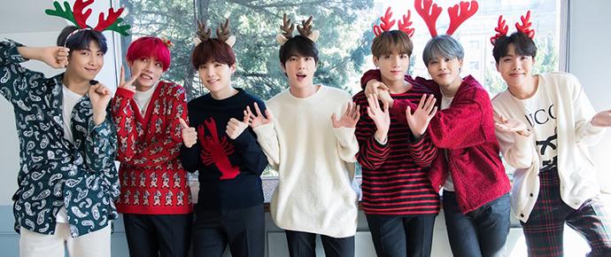 📷 Álbum especial de Natal – BTS x Dispatch