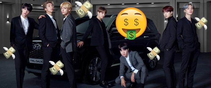 BTS arrecada mais de $3.6 bilhões por ano para a Coreia do Sul 🤑