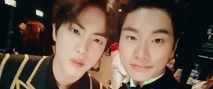 Jin recebe elogios de Lee Yi Kyung após o MAMA 2018