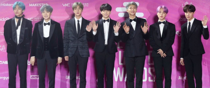 BTS @ Seoul Music Awards 2019
