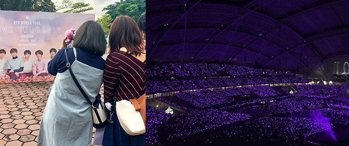 2 dias antes do show do BTS: a calmaria antes da invasão ARMY