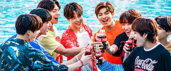 📷 BTS x Coca-Cola