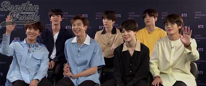 🎥 Entrevista com o BTS: o que eles mais gostam em si?