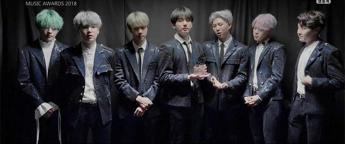 BTS vence três prêmios na oitava edição do Gaon Music Awards!
