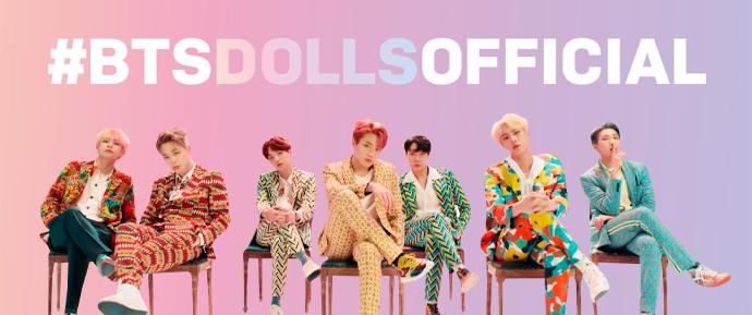 BTS lançará bonecos e coleções de brinquedos em parceria com a Mattel!