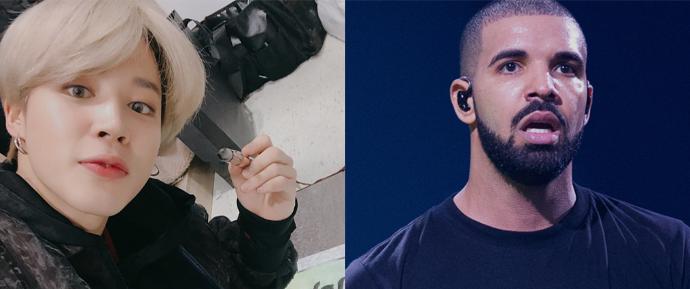 Jimin quebra recorde de Drake no Soundcloud! 😯