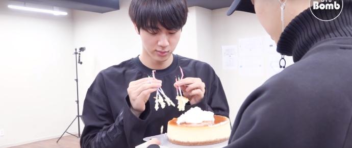 🎥 Festa de aniversário surpresa do Jin @ 2017