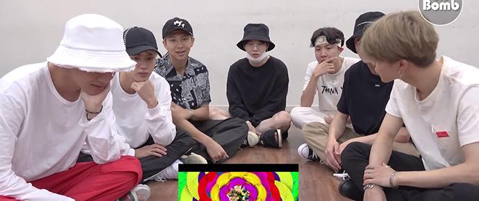 🎥 Reação do BTS ao MV de 'IDOL'