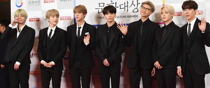 BTS @ 6th Edaily Culture Awards 2019