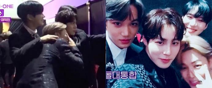 O que Jimin, Taemin, Kai e Sungwoon aprontam quando dão rolê?