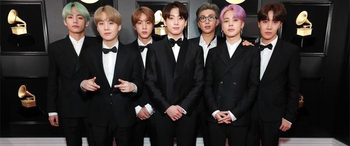 Como o BTS mostrou todo o orgulho coreano e conquistou o tapete vermelho do Grammy 2019