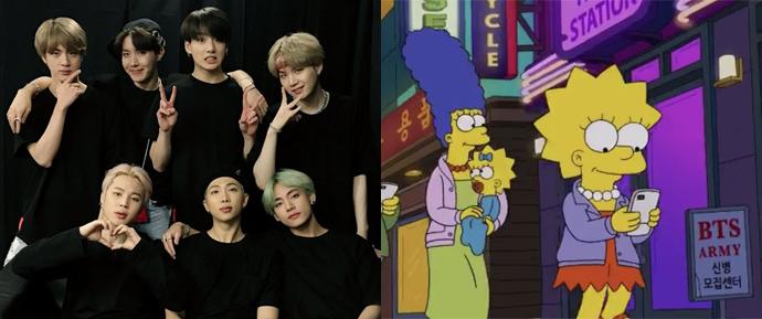 Dominação mundial concluída com sucesso: O BTS fez uma aparição em 'Os Simpsons'!