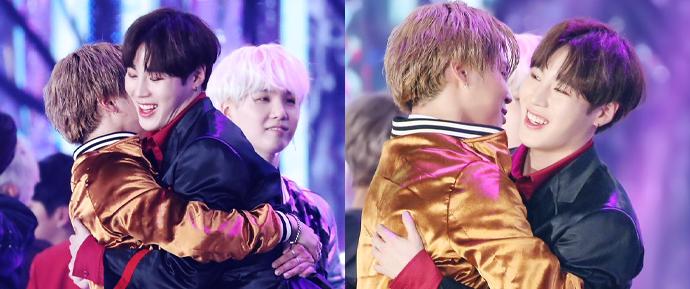 Jimin demonstra apoio ao novo single de seu amigo Sungwoon 💛