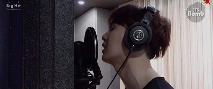 [BANGTAN BOMB] Por trás da gravação de SUGA para 'Song Request'