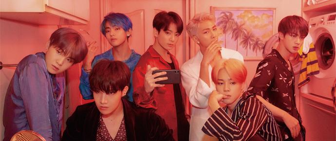 BTS lidera lista dos álbuns físicos mais vendidos nos Estados Unidos! 🎉
