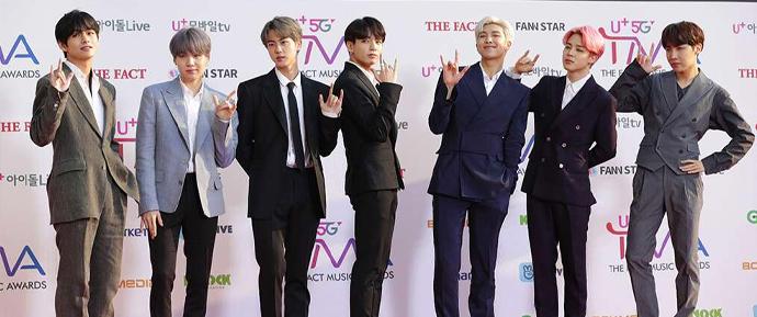 BTS @ The Fact Music Awards 2019
