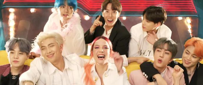 BTS surpreendeu os ARMYs com nova versão de Boy With Luv!