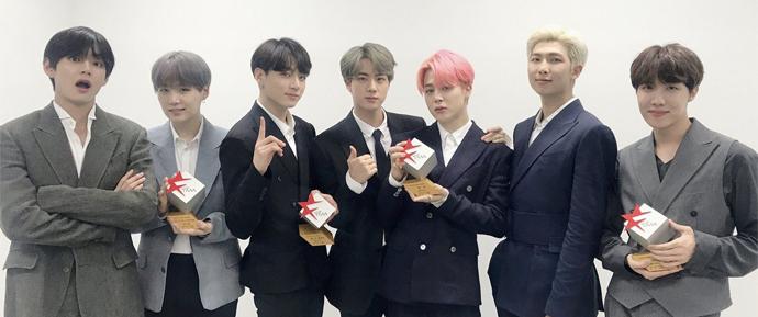 Aclamados: BTS ganha 4 prêmios no The Fact Music Awards, incluindo o Daesang!