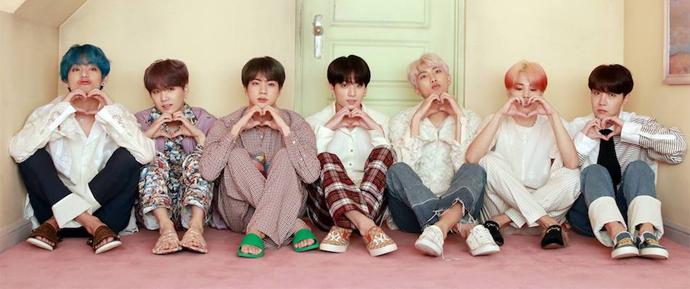 BTS conquista Triple Crown nas paradas semanais do Gaon!