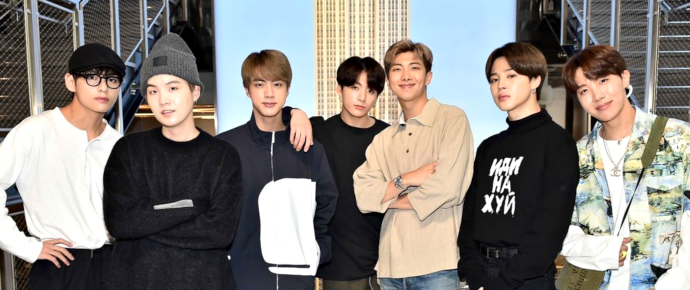 📷 BTS @ Empire State Building