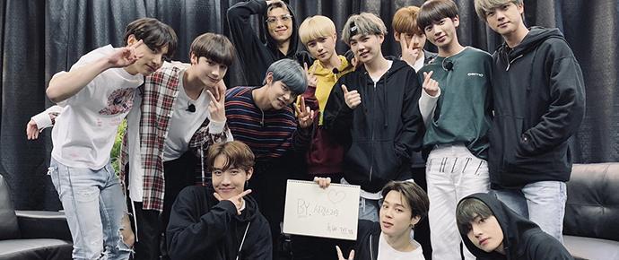 Melhores amigos 💕 BTS e TXT se divertem em Chicago!