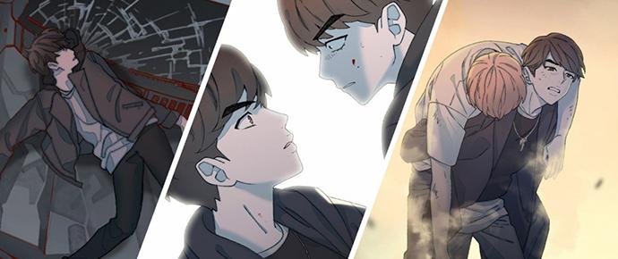 """14 cenas surpreendentes de """"Save Me,"""" o webtoon do BTS"""