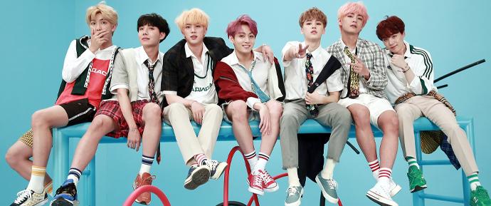Reis do K-Pop: A cada 10 álbuns vendidos na Coreia do Sul, 4 são do BTS!