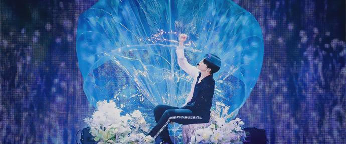 Jimin apareceu magicamente dentro de uma bolha em 'Serendipity'!