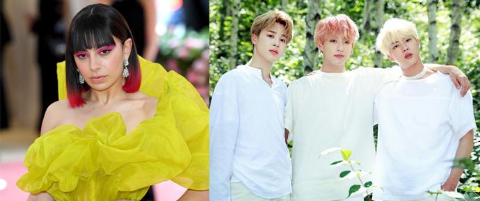"Jin, Jimin e JungKook se juntam à Charli XCX e lançam ""Dream Glow"", música do jogo BTS WORLD!"
