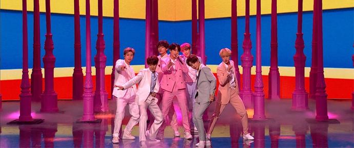 O BTS arrasou, como sempre, no Britain's Got Talent!