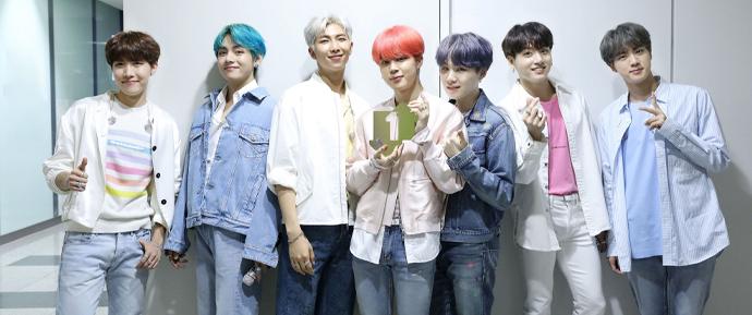Reis fazem assim 👑 BTS conquista seu segundo certificado de prata nos charts britânicos!