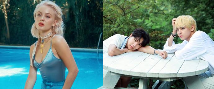 """J-Hope e V se juntam à Zara Larsson em """"A Brand New Day"""", segunda música de BTS WORLD"""