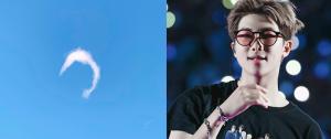 O RM registrou um raro fenômeno no céu (sem querer!) ☁️