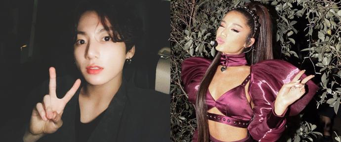 JungKook contou detalhes sobre seu encontro com Ariana Grande 