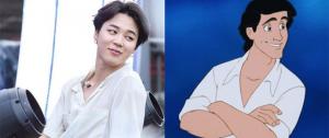 Os ARMYs acham que o Jimin é a escolha perfeita para interpretar o Príncipe Eric! 隆♀️