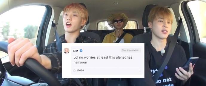O RM deu um conselho inusitado para uma ARMY que não sabe dirigir 🚗