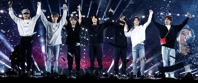 O BTS será o primeiro artista estrangeiro a fazer um show solo na Arábia Saudita!