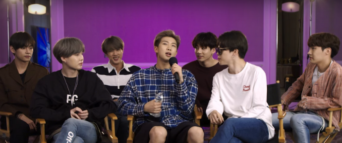 Entrevista completa do BTS @ Rádio Disney