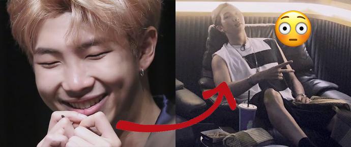 RM mostrou seus músculos novamente, e os ARMYs ficaram como? SE-DEN-TOS!