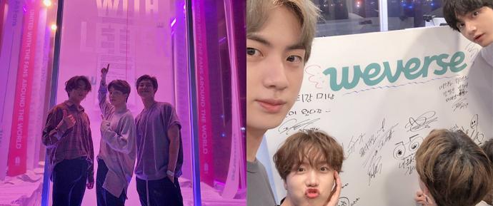 O BTS visitou o 'ARMY With Letter' de surpresa, e retribuiu o amor com mensagens fofas 💜