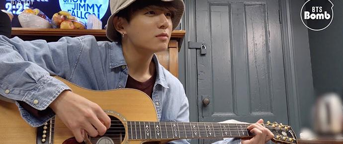 [BANGTAN BOMB] Vamos tocar violão!