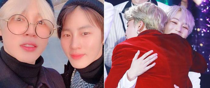 A ligação surpresa de Sungwoon para Jimin mexeu com os nossos corações 💛