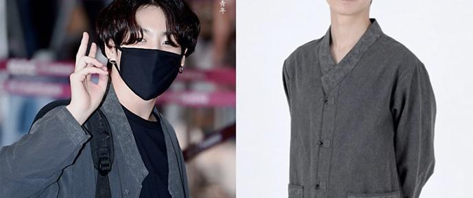JungKook lançou uma tendência entre as celebridades: O hanbok moderno!