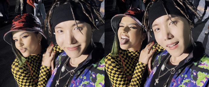 J-Hope e Becky G se juntam para a colorida e dançante 'Chicken Noodle Soup'!