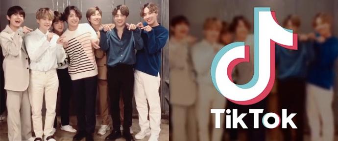 O BTS abriu uma conta oficial no TikTok!