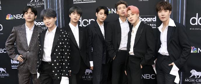 O BTS foi indicado em 3 categorias no MTV EMAs de 2019!