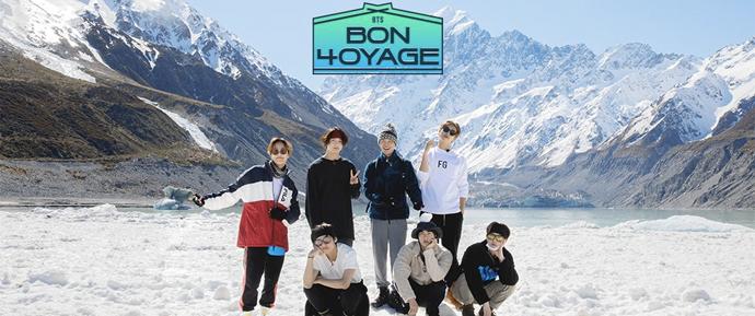 BTS Bon Voyage S04E3: As estrelas estão brilhando para você